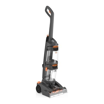Dual Power - W86-DP-B Upright carpet cleaner, grey & orange