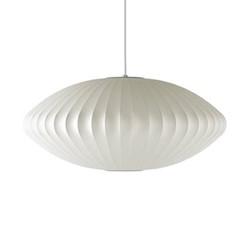 Saucer Large pendant lamp, W89 x H35.5cm, white
