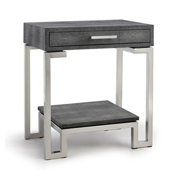 Flex Side table, W52 x H60 x D40cm, grey