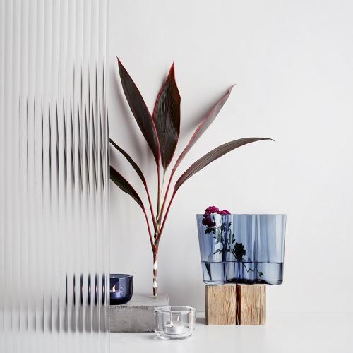 Alvar Aalto Vase, 16cm, rain