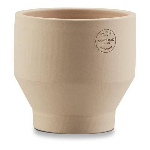 Edge Indoor pot, Dia18 x H18cm, Sierra Yellow