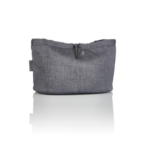 Essentials pouch, Frost grey, H20 x W32 x L20cm, Grey