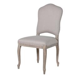 Dining chair, 101.5 x 50 x 59.5cm, French Grey