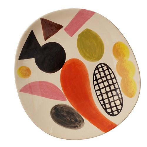 Clachan Platter, D38cm, Multi