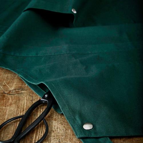 Canvas Creative and garden apron, 100 x 74cm, Dark Green