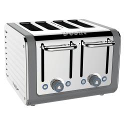 Architect 4 slot toaster, Grey