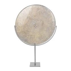 Large objet, smoked glass