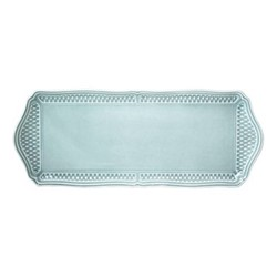 Pont aux Choux Rectangular serving tray, 38 x 15cm, celadon