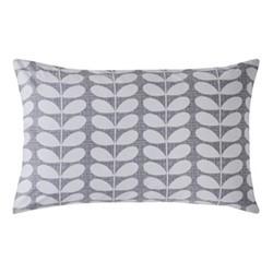 Placement Scribble Stem Pair of standard pillowcases, 50 x 75cm, pebble