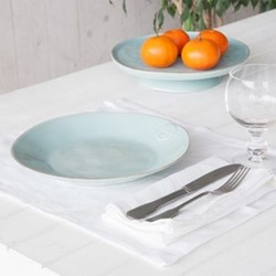 Porto Pair of place mats, 37 x 47cm, white