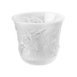 Hirondelles Votive, H10 x D12cm, clear/satin finish