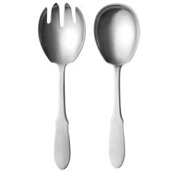 Mitra Matt Salad serving set, stainless steel