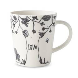 Ellen DeGeneres Mugs - Love Tree Mug