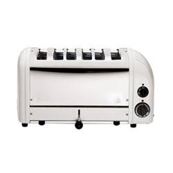 Classic Bun toaster, 6 slot, white