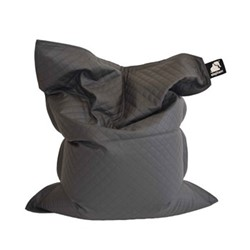 Junior - Quilted Beanbag, 140 x 110cm, smoke grey