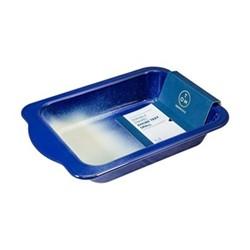Enamel Small roasting tray, L27 x W20cm, navy blue
