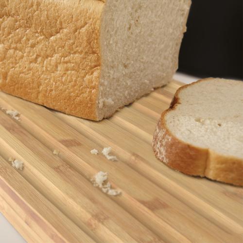 Bread bin, White