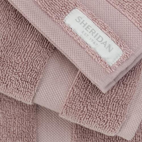 Organic Cotton Eden Bath towel, 69 x 137cm, Dusk