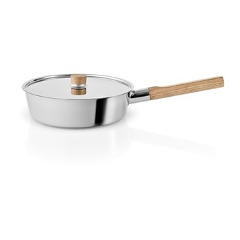 Nordic kitchen Saucepan with lid, Dia24cm, stainless steel