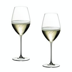 Veritas Pair of Champagne/sparkling wine glasses, H23.5 x D8.5cm - 44.5cl