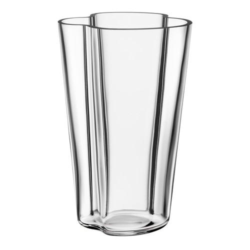 Alvar Aalto Vase, 22cm, clear