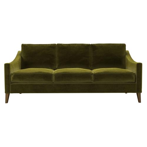 Iggy 3 seater sofa, H91 x W194 x D95cm, Olive