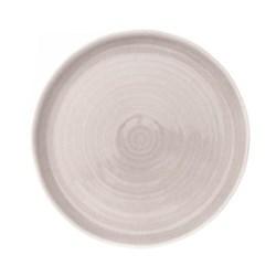 Pinch Set of 4 dinner plates, D27.3cm, grey
