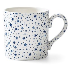 Burleigh - Midnight Sky Mug, 12 x 9 x 9cm - 375ml, light indigo