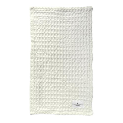 Waffle Wash cloth, 25 x 40cm, Natural White