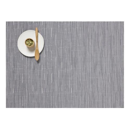 Bamboo Set of 4 rectangular placemats, 36 x 48cm, Fog