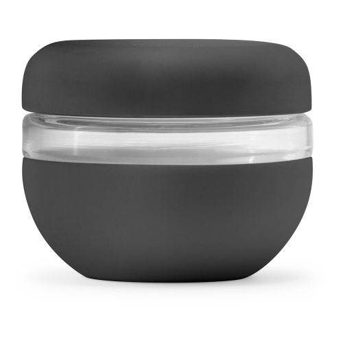 Porter Lunch bowl, H9 x W11cm, Charcoal