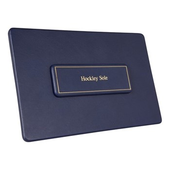 Chelsea Landscape table planner, 35.6 x 23.4cm, sapphire