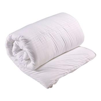 Luxury Microfibre - 4.5 Tog Super king size duvet, L260 x W220cm, white