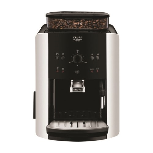 Arabica Bean to cup coffee machine - EA811840, 1.5-2 litre, Black & Silver