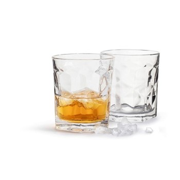 Club Pair of tumblers, Dia8.5 x H9cm - 30cl, clear