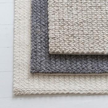 Meraki Textured rug, 180 x 120cm, grey