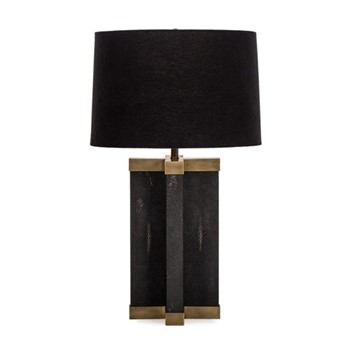 Tillman Table lamp, H84 x D49cm, brass/black