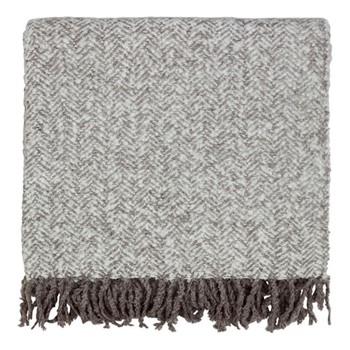Cozy Throw, L130 x W170cm, cloud grey