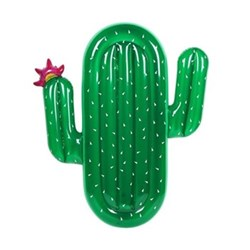 Lie-on float cactus 136 x 174 x 18 cm