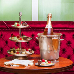 Macaron and Champagne afternoon tea for two