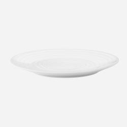 Blond Dinner plate, 28cm, White Stripe