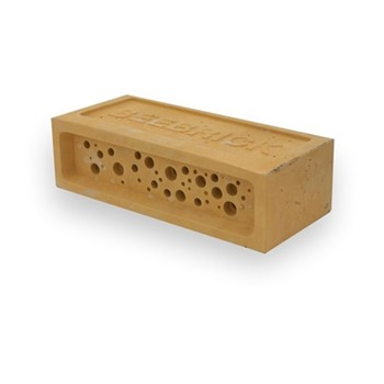Bee Brick Bee house, 21.5 x 10.5 x 6.5cm, yellow