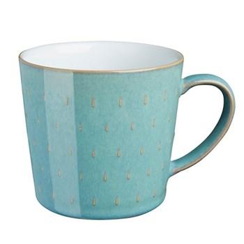 Azure Cascade mug, 40cl - 9.5 x 9cm, aquamarine