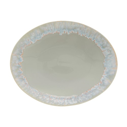 Taormina Oval platter, 41cm, Grey