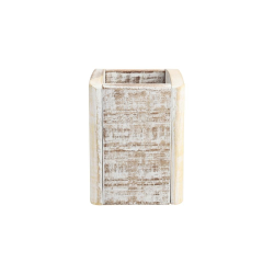 Nordic Cutlery box, 11 x 11 x 15cm, White