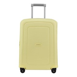 S'Cure Spinner suitcase, 55 x 40 x 20cm, pastel yellow stripes