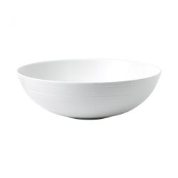 Strata Serving bowl, 30cm, White