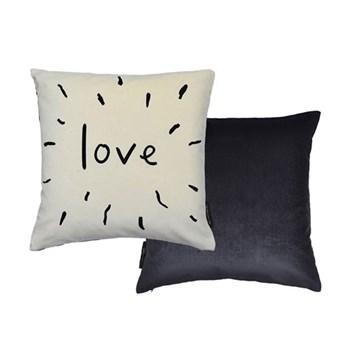 Love cushion L40 x W40cm