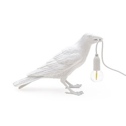 Waiting Bird Tablelamp, L29.5 x W12 x H18.5cm, white