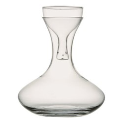 Wine carafe and aerator, D20 x H24 cm, clear